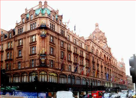 Harrods Shopping