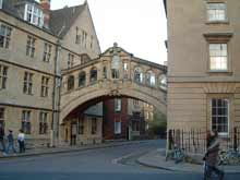 Bridge of Sighs, Oxford University