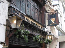 Historic London City Pub