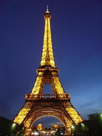 Paris Eiffel Tower Pictures  Information on London Tours    Paris 1 Day Tour Unescorted   Eurostar   Eiffel Tower