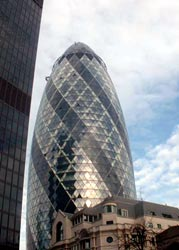 Gherkin by Norman Foster, SwissRe Bank