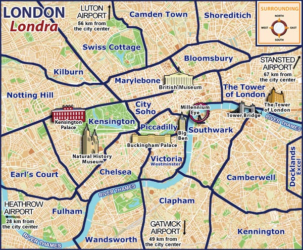 london tour map
